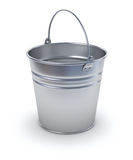 Bucket. (3D illustration over white background Stock Photography