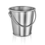 Bucket. Empty bucket isolated on white background Royalty Free Stock Images