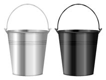Bucket. Set on a white background Royalty Free Stock Photography