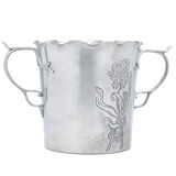 Bucket for alcohol bottle Royalty Free Stock Image
