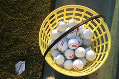 Bucket Of Balls Royalty Free Stock Images