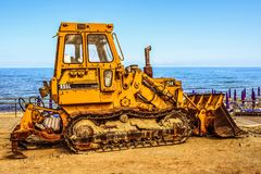Bucket, Bulldozer, Engine Royalty Free Stock Images