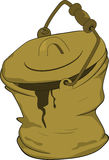 Bucket. Cartoon Stock Photo