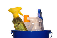 Bucket and cleaning Royalty Free Stock Photo
