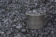 Bucket coal Stock Images