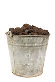 A bucket of coal. Stock Photography