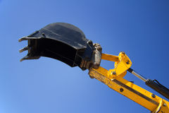 Bucket construction excavator Stock Image