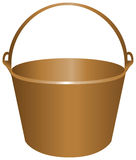 Bucket for construction work Royalty Free Stock Images