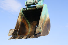 Bucket excavator Stock Image
