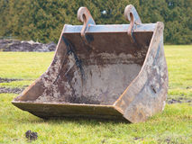 Bucket of an excavator Royalty Free Stock Images