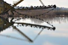 Bucket excavator Stock Photography