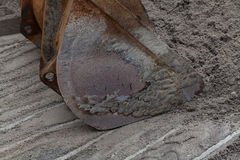 Bucket for excavator Stock Image
