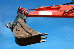 Bucket of an excavator Royalty Free Stock Image