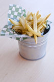 Bucket of French Fries Stock Photos