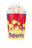 Bucket full of popcorn Royalty Free Stock Image