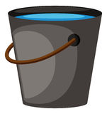 Bucket full of water Royalty Free Stock Image