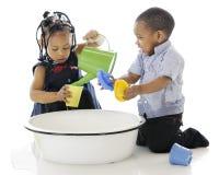 Bucket of Fun royalty free stock photo