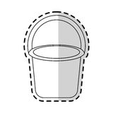 bucket with handle icon image Stock Images