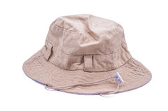 Bucket hat. On over white background Royalty Free Stock Photography