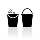 Bucket icon Stock Images
