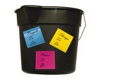 Bucket list Royalty Free Stock Photo