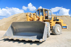 Bucket loader Royalty Free Stock Images