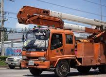 Bucket o caminhão da autoridade provincial do eletricity de Tailândia imagens de stock
