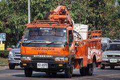 Bucket o caminhão da autoridade provincial do eletricity de Tailândia imagem de stock