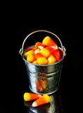 Bucket Of Candy Corn Stock Images