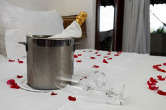 Free Bucket Of Champagne Stock Image - 60154221