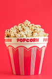 Bucket of popcorn Royalty Free Stock Photos
