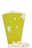 Bucket of popcorn Stock Image