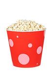 Bucket of popcorn Stock Photography