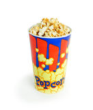 Bucket of popcorn Royalty Free Stock Photography
