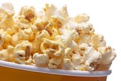Bucket of popcorn Stock Photo