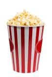 Bucket  popcorn Stock Images