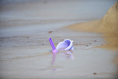 Bucket and scoop Royalty Free Stock Photo