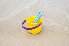 Bucket and Scoop Royalty Free Stock Images
