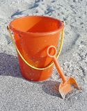 Bucket and shovel Royalty Free Stock Photo