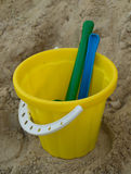 Bucket and shovels Stock Photos