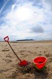 Bucket and spade Royalty Free Stock Photo