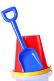 Bucket and spade Stock Photography