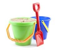 Bucket and spade Royalty Free Stock Photos