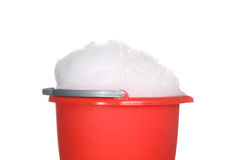 Bucket of suds Royalty Free Stock Images