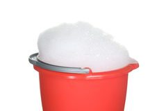 Bucket of suds Royalty Free Stock Image