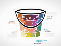 Bucket Royalty Free Stock Images