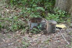 Bucket and tub Stock Image