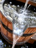 bucket vatten Royaltyfri Foto