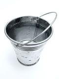 Bucket of water royalty free stock photos