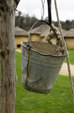 Bucket of a water well Royalty Free Stock Photography